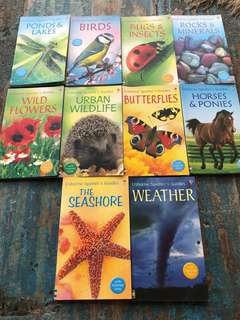 Usborne Spotters guides set of 10 books