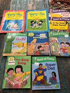 Early reader set of 10 books