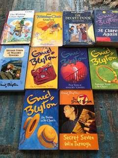 Enid blyton set of 10 books