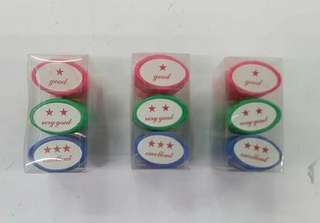 -Pre Order STAMP -Php 80 -GOOD -VERY GOOD -EXCELLENT #syag