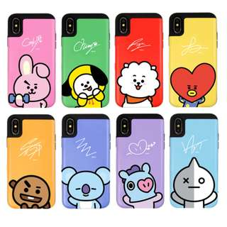 Official BT21 Card Bumper Case