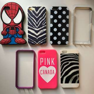 iPhone 5/5s Phone Case Bundle
