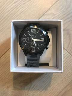 BNWT Men's Fossil Watch Gunmetal grey