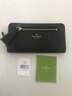PRICE DROP! BNWT Authentic Kate Spade Pebbled Leather Wallet