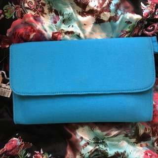 Our Very Own Blue Clutch