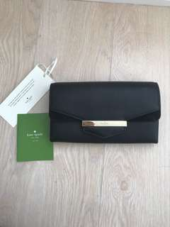 PRICE DROP! BNWT Authentic Kate Spade Leather Long Wallet