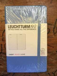 Leuchtturm  Ruled pocket notebook  (90x150mm)