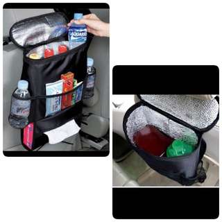 Car back seat storage/ Organiser