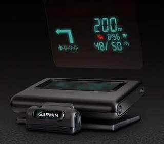 Garmin heads up display new
