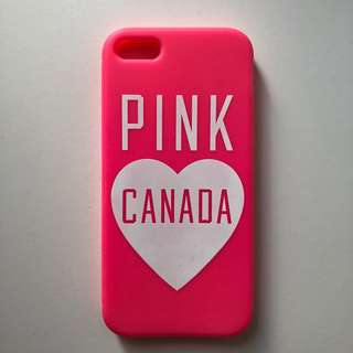 PINK Canada iPhone 5/5s Case