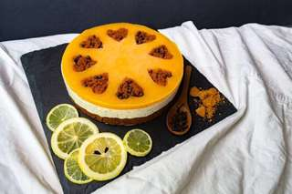 Mother's Day Mousse Cheesecake LADY EARL GREY Special home baked!