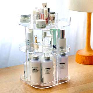 Acrylic Cosmetic Container/Organizer
