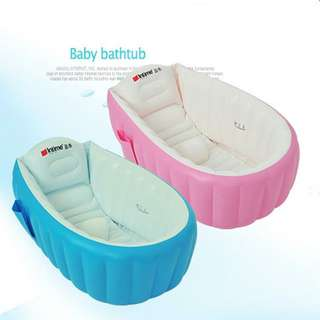 Intime Inflatable Baby Bath Tub YT-226A 98x65x28cm