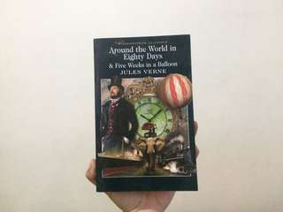 Around the World in Eighty Days & Five Weeks in a Balloon - Jules Verne