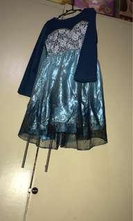 Kids Elsa Frozen Dress