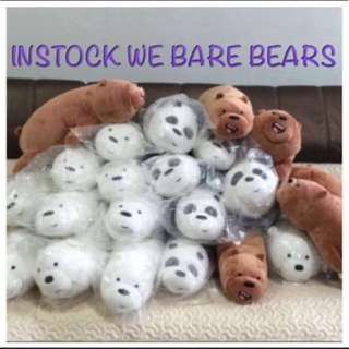 We Bare Bears Soft Toys