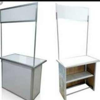 Booth portabel murah bisa dilipat