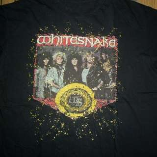 Tshirt Whitesnake Europe Tour