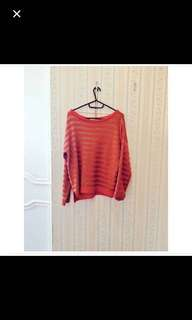 Zara Red Sweatshirt