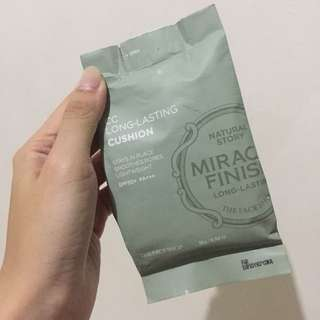 The Face Shop  Authentic Miracle Finish CC Cushion
