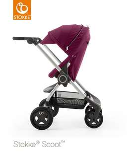 Brand new Stokke Scoot V2 Purple