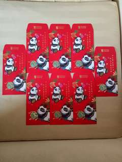Standard Chartered Red Packets (8nos)