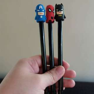 Pens for Boys (Heroes)