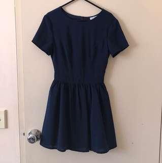 Tobi navy dress