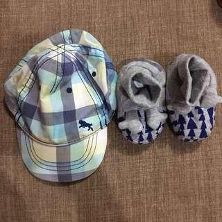 H&m cap & shoes