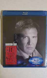 Clear and Present Danger Bluray