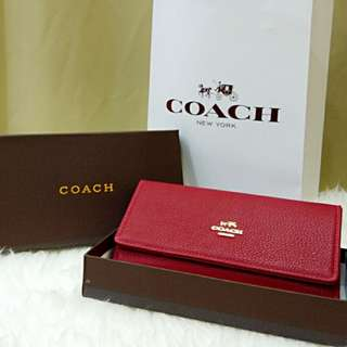 Coach Purse Red Color