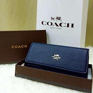 Coach Purse Blue Color