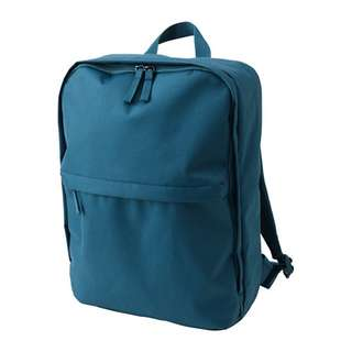 Teal IKEA Backpack (STARTTID) w/Matching Attachable Tote Bag