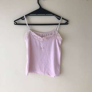 Lacey Light pink singlet