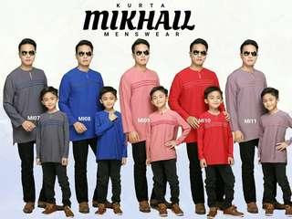 Kurta Mikhail   Kids Kurta   Men Kurta   Father and Son Set  
