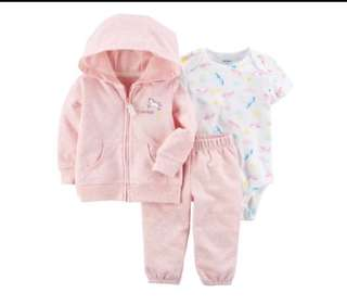 *6M* Brand New Carter's 3-Piece Little Jacket Set For Baby Girl