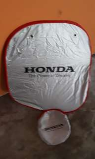 Brand new Honda car sunshade