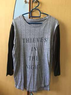 Thieves In The Night Long Sleeve T-Shirt