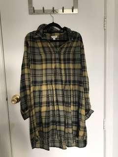 WITCHERY Flannel Dress *size 12*