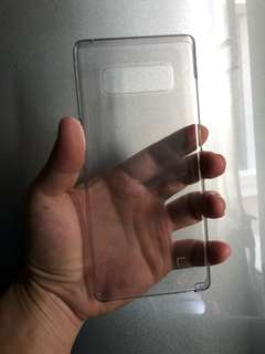 Clear Note 8 casing