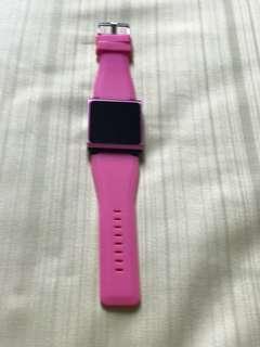 Ipod Nano (Pink) with watch strap