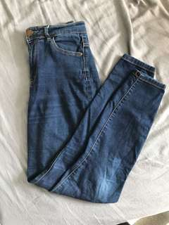 Size 10 GLASSONS High Waisted Jeans