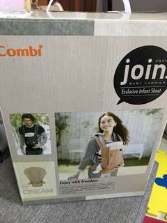 Combi infant sheet + Combi Join Baby Carrier