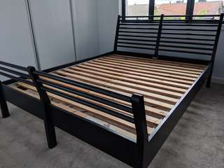 Queen bed base