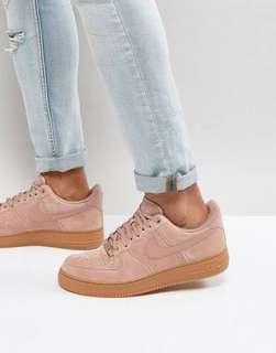 Nike Air Force 1 - pink suede