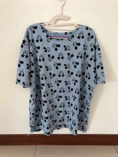 Plus size Mickey top