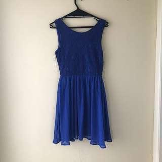 Blue Glassons dress