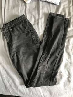 Size 10 Black Faded Jeans