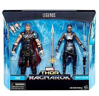 Marvel legends - Thor & Valkyrie (訂)