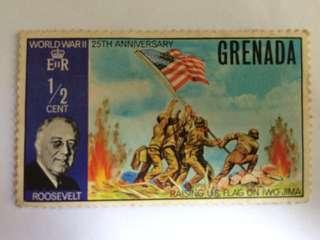 二戰廿五週年紀念郵票